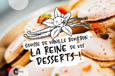 Un soupçon de vanille Bourbon dans vos desserts gourmands